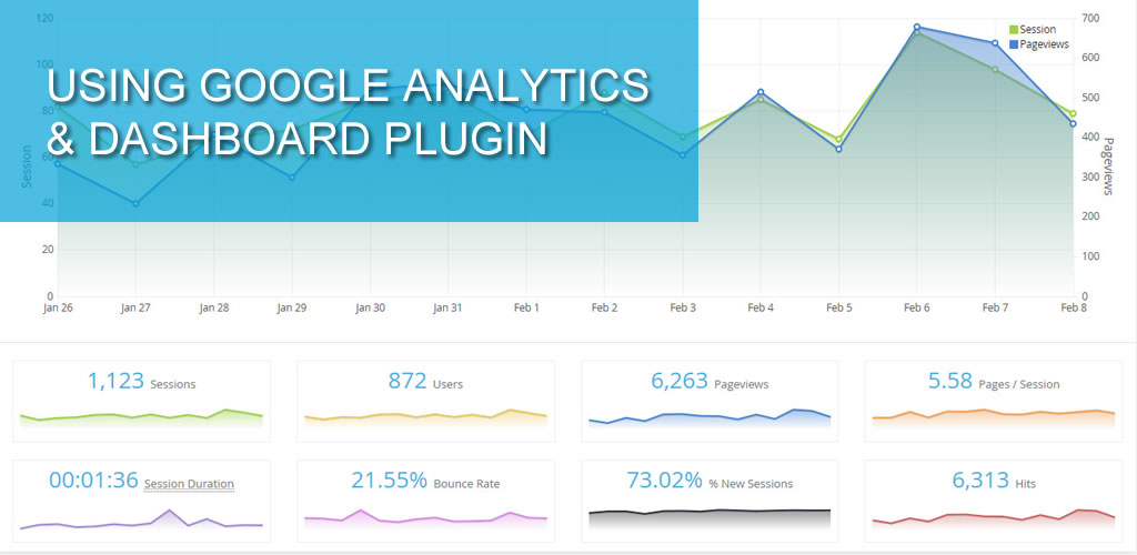 Using Google Analytics & Dashboard plugin