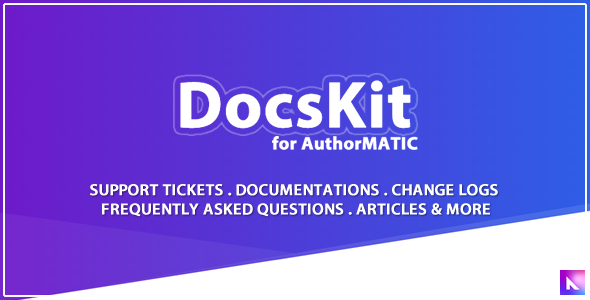 Docskit - AuthorMATIC Theme